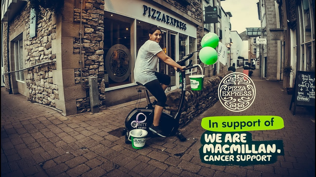 Pizza Express Kendal Friends X Macmillan Cancer Support Infinity Video