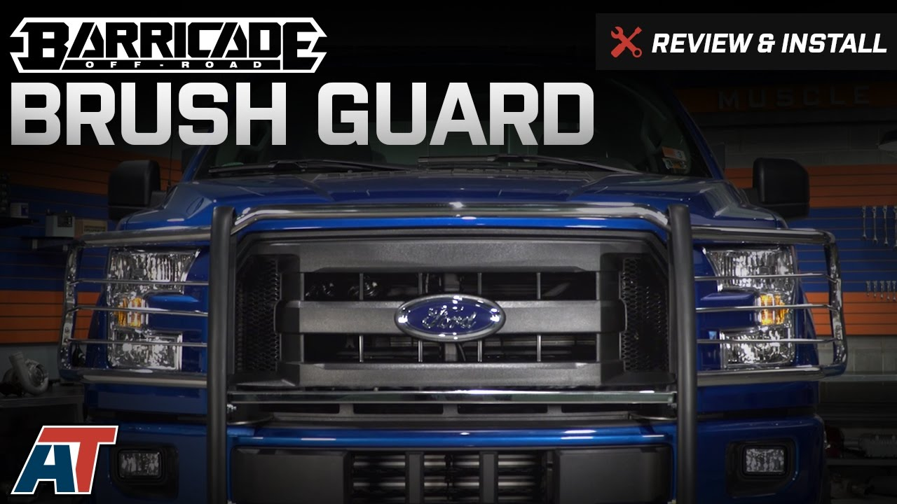 2015 2017 F150 Barricade Brush Guard Review Install