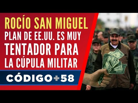 Rocío San Miguel: Plan De EE.UU. Es Muy Tentador Para La Cúpula Militar