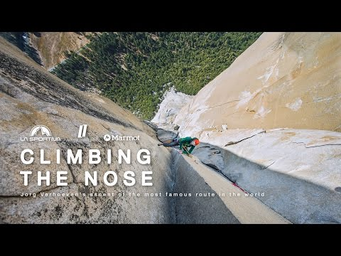 CLIMBING THE NOSE – Jorg Verhoeven's ascent of the most famous route in the world
