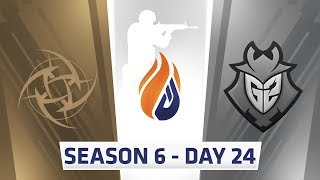 ECS Season 6 Day 24 NIP vs G2 - Overpass