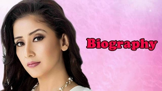 Manisha Koirala - Biography