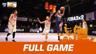 China v Mongolia - Full Game - FIBA 3x3 Asia Cup 2017