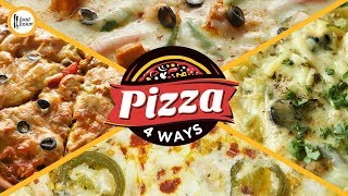 4 Pizza Recipes By Food Fusion