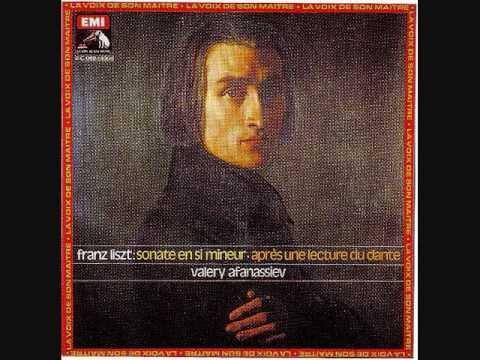 Liszt -- Sonata in B Minor - Valery Afanassiev -- 1976