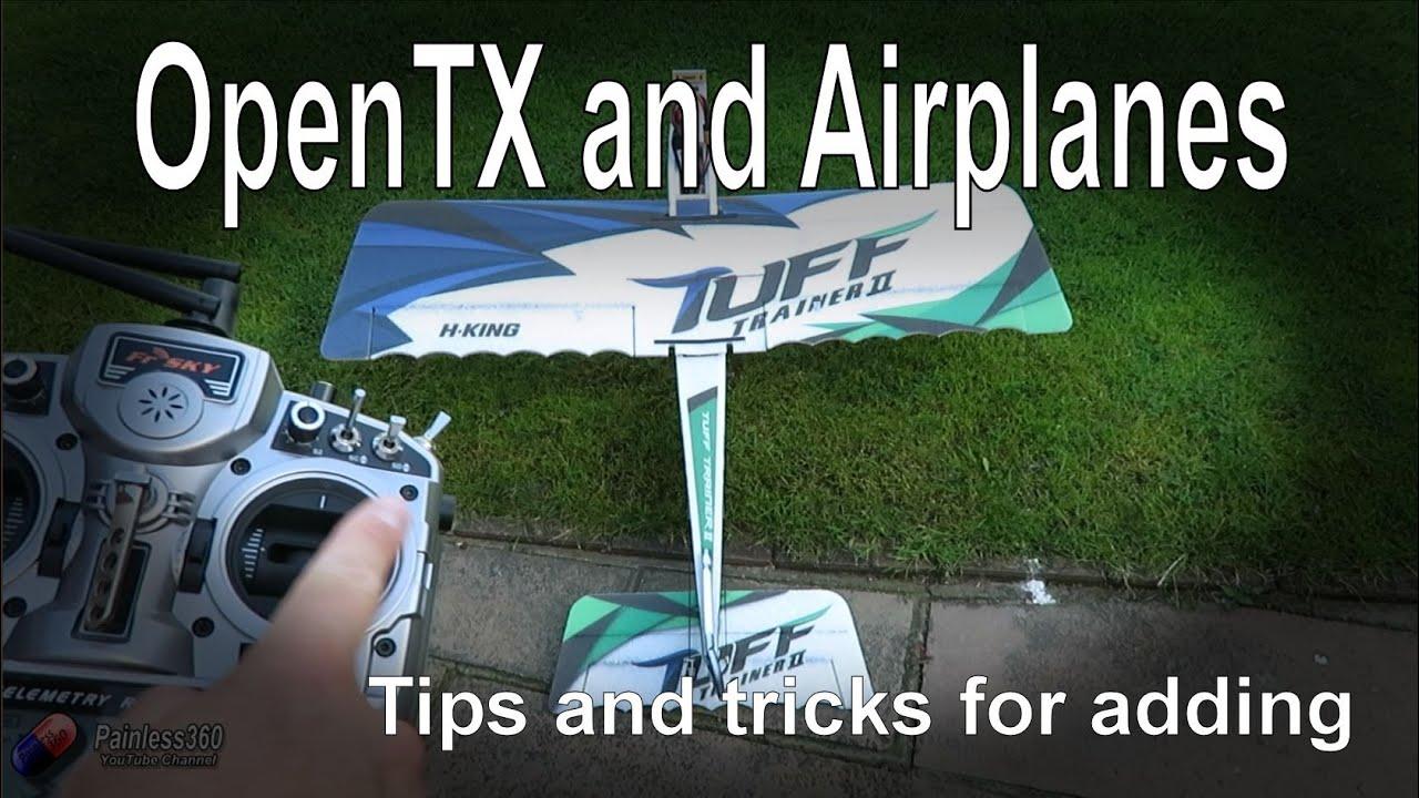 Taranis and OpenTX: Simple plane model setup for beginners