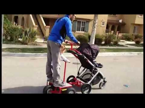 Electric stroller youtube Motorized baby stroller