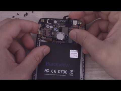 Разбор телефона Blackview E7s
