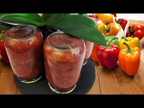 Вкусный Лечо на зиму: простой рецепт на 10 литровых банок
