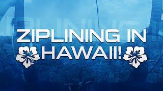 Zip Lining in Maui, Hawaii! - Kapalua Ziplines