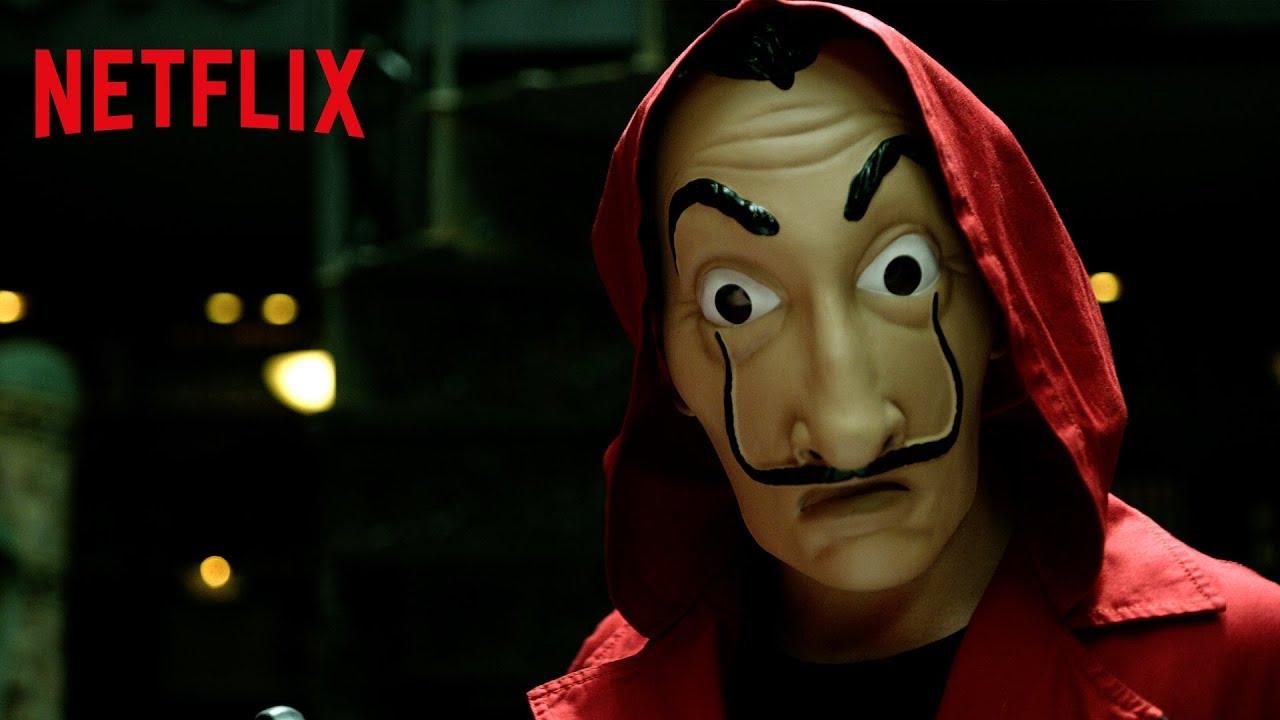 LA CASA DE PAPEL Saison 2 Bande Annonce (Netflix 2018 ...  |La Casa De Papel