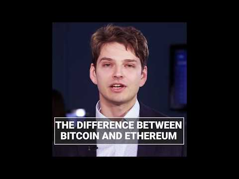 Bitcoin Vs Ethereum  (Whats The Difference!)