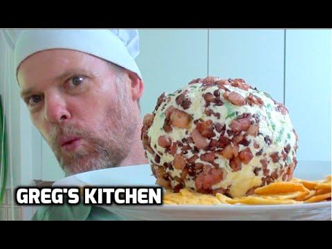 BACON CHEESE BALL - Dip Recipe  - Greg's Kitchen