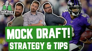 Fantasy Football 2020 - Final MOCK DRAFT of 2020 + New Nicknames Emerge - Ep. #930