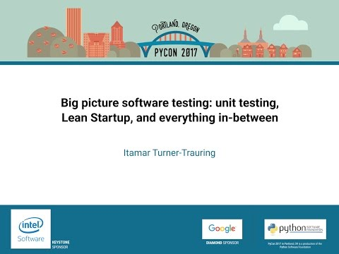 Image from Big picture software testing: unit testing, Lean Startup, and everything in-between