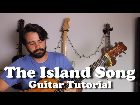 The Zac Brown Band  Island Song  Guitar Tutorial with tabs, lyrics, playalong