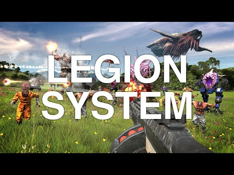 Serious Sam 4 - Legion System