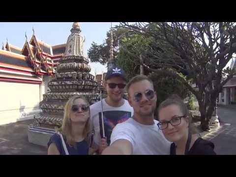 Thailand Temple of the Emerald Buddha Grand Palace & Temple of the Reclining Buddha