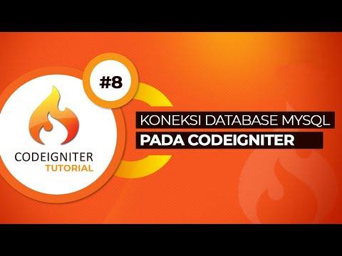 Cara Database Codeigniter