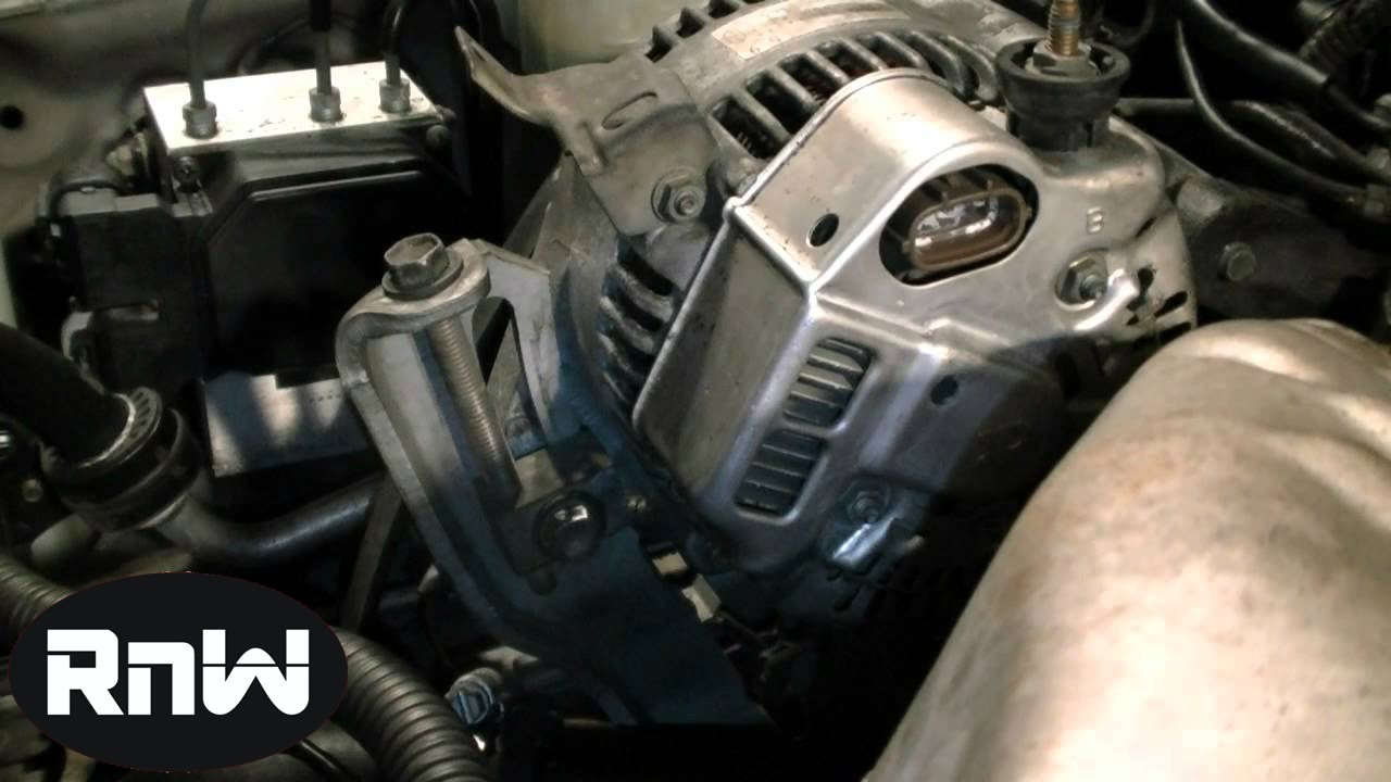 How to Replace an Alternator on a 1999 Toyota Camry 22L Engine  YouTube