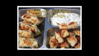 Weber Babyq Baked Zucchini Chips