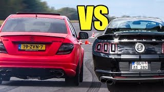 American V8 🇺🇸 vs Germany 🇩🇪V8 - Exhaust Sound & Accelerations