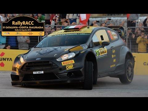 Leg 1 - Rally Catalunya 2015 - L. Bertelli / L. Granai - Ford Fiesta WRC