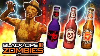 "Black Ops 3 Zombies - NEW PERKS ""50/50"" & ""WIDOW'S WINE"" IN SHADOWS OF EVIL! (Call of Duty Zombies)"