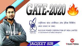 NPCIL I GATE-2020 by Jagjeet Sir