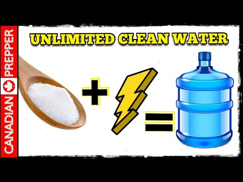 Salt + Electricity = Unlimited Purified Water: MSR SE200