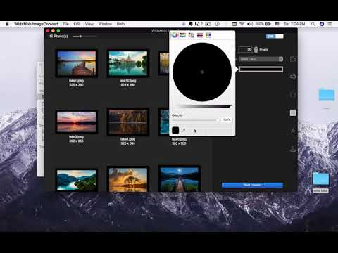WidsMob ImageConvert Video Tutorial - How to Convert Image