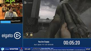 #ESAWinter19 Speedruns - You Are Empty [Any% Sprint] by Tezur0