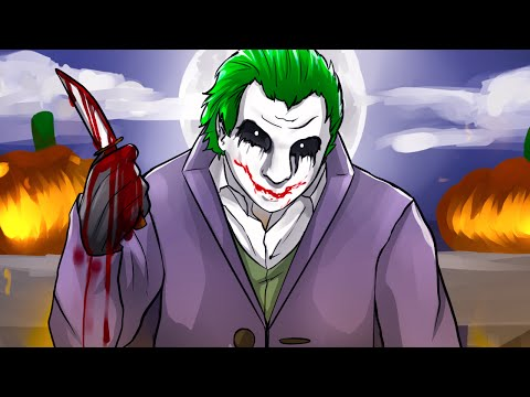 THE JOKER IN GTA V HALLOWEEN DLC! - GTA 5 Online Funny Moments