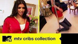 Kim Kardashian: house tour della sua villa pazzesca con palo per la lap dance   MTV Cribs Collection