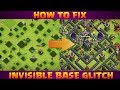 Gambar cover How to Fix Invisible Base Glitch|Clash of Clans|
