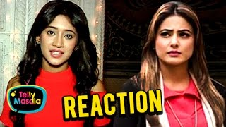 EXCLUSIVE! Shivangi Joshi aka Naira REACTS On Hina Khan's TANTRUMS | Ye Rishta Kya Kehlata Hai