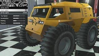 GTA 5 - DLC Vehicle Customization - RUNE Zhaba (Review & Durability Testing)