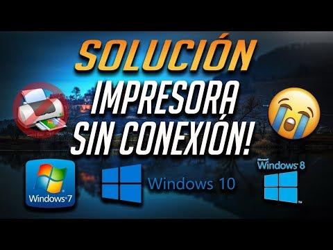 Error Impresora Sin Conexión en Windows 10/8/7 - [5 Soluciones 2021]