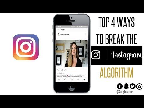 How to Break the Instagram Algorithm
