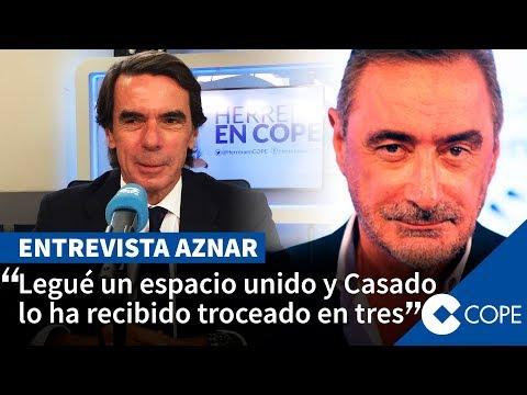 La entrevista de Herrera a Aznar completa