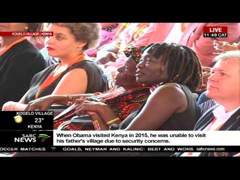 Speech by the Former US President Barack Obama in Kenya