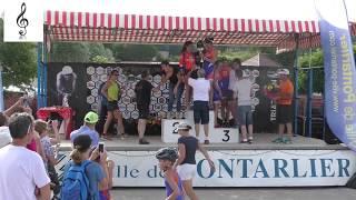 Triathlon de Saint Point lac 2018 : La remise des prix finale + les interview