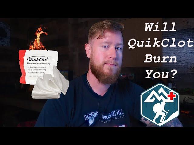 WARNING GRAPHIC: Will QuikClot Burn You?