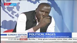 Kenyatta succession : Political parties are like swimming costumes