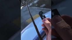 Wiper blade installation CT200h Lexus