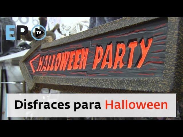 EL PROGRESO TV ► Los disfraces más demandados para Halloween