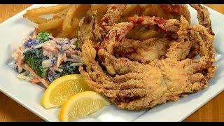 Live Crab Fry #Fried Crab with Chennai Chettinad Masala