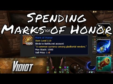 Where to Spend Marks of Honor | PvP Vendor Locations