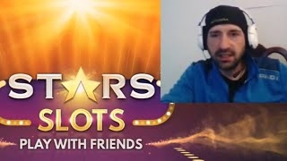 Gambar cover STARS SLOTS Casino Play With Friends by Huuuge Global | Android / iOS Game Youtube YT Gameplay Video