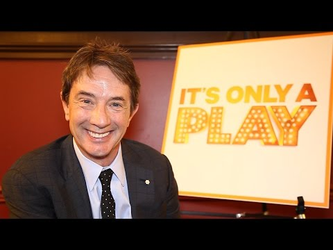 It's Only a Play Welcomes Martin Short, Katie Finneran, and Maulik Pancholy to the Hit Broadway Cast